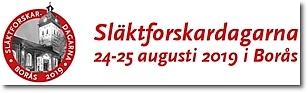 Släktforskardagarna 2019 i Borås